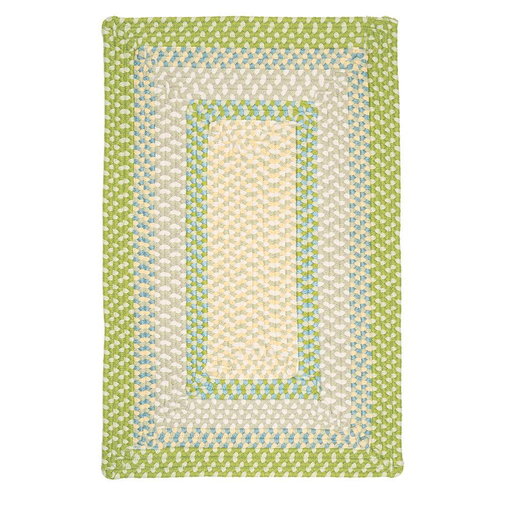 Home Decorators Collection Blithe Lime 8 ft. x 11 ft. Rectangle Braided Area Rug