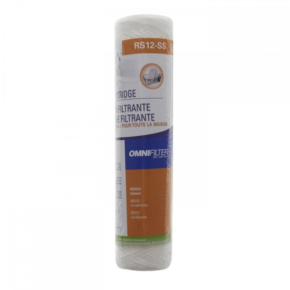 OmniFilter Polypropylene Sediment Filter OMNIFILTER RS12