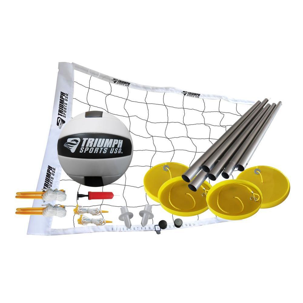 Triumph Sports USA Beach Volleyball Set