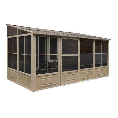 Florence Add-A-Room Solarium 8 ft. x 16 ft. in Sand