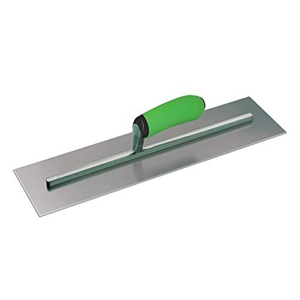14 in. x 4 in. Concrete Finishing Trowel - Soft Grip