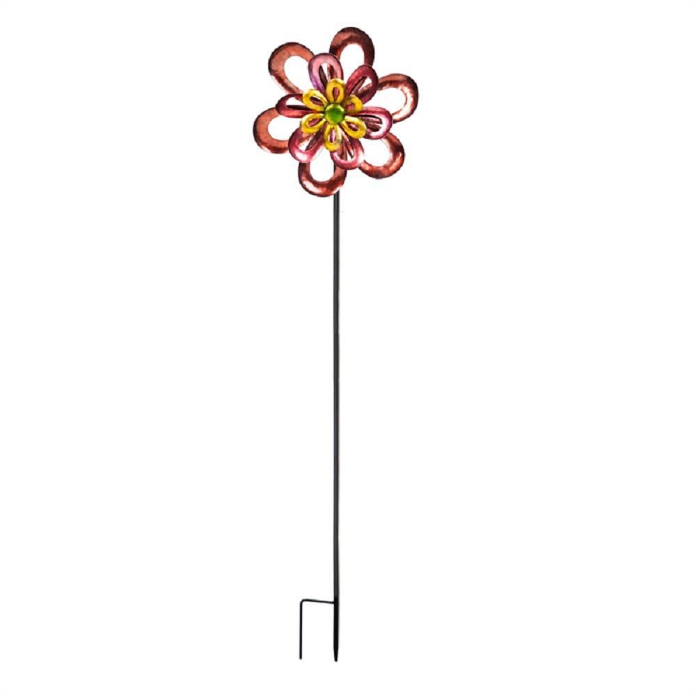 4 ft. Floral Wind Spinner