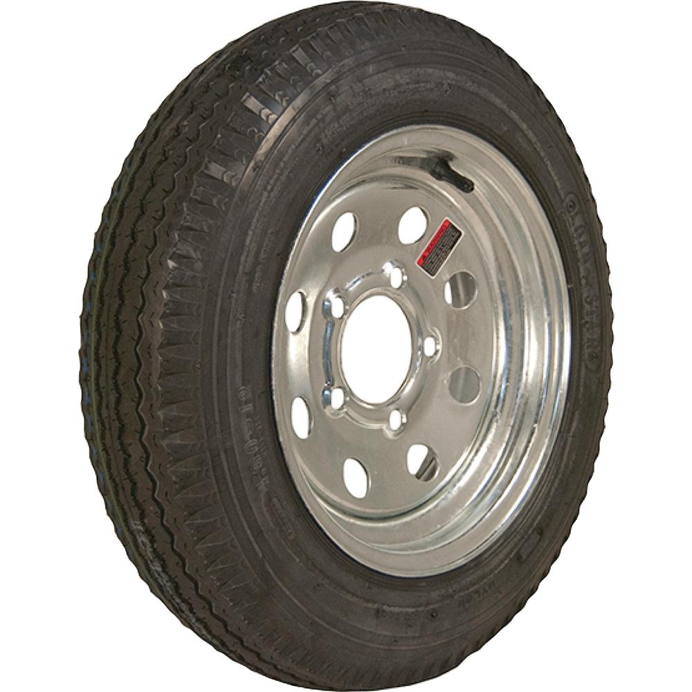 Loadstar 480-12 K353 BIAS 780 lb. Load Capacity Galvanized 12 in. Bias Tire and Wheel Assembly