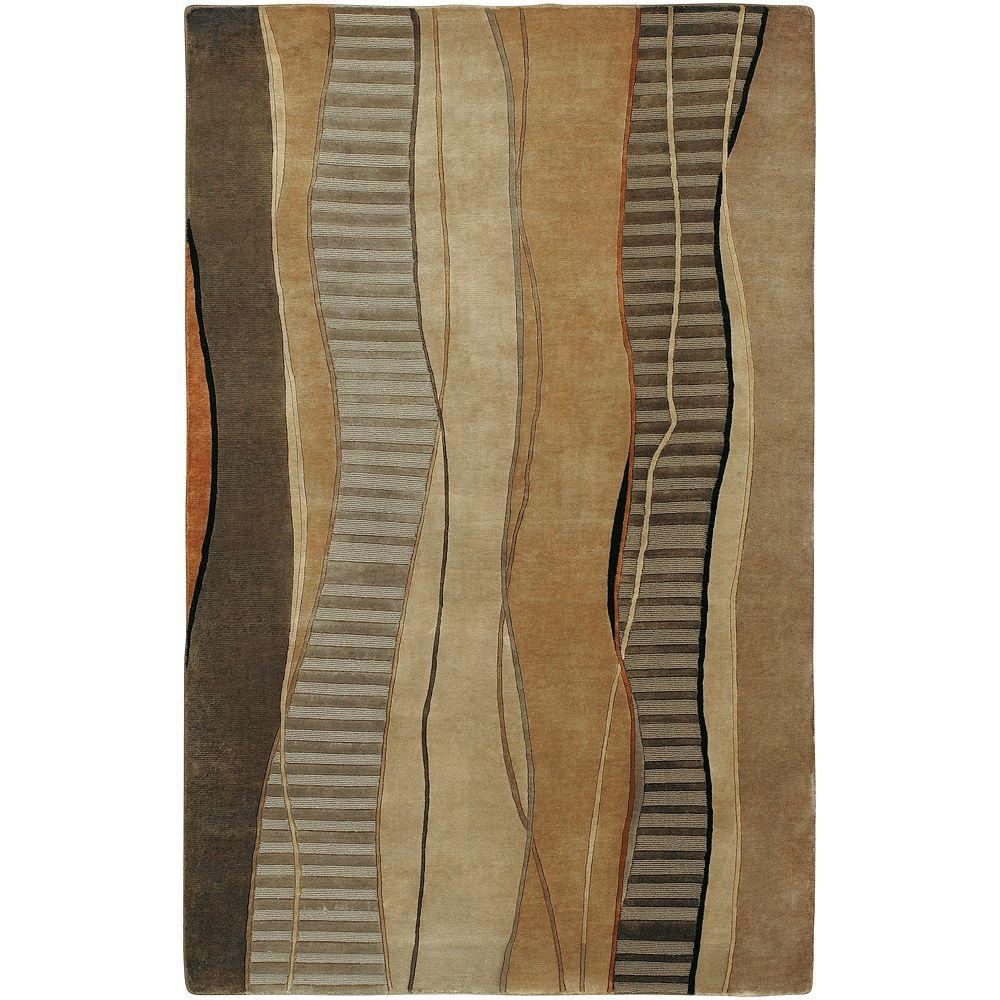 Elsinore Cocoa 8 ft. x 11 ft. Area Rug