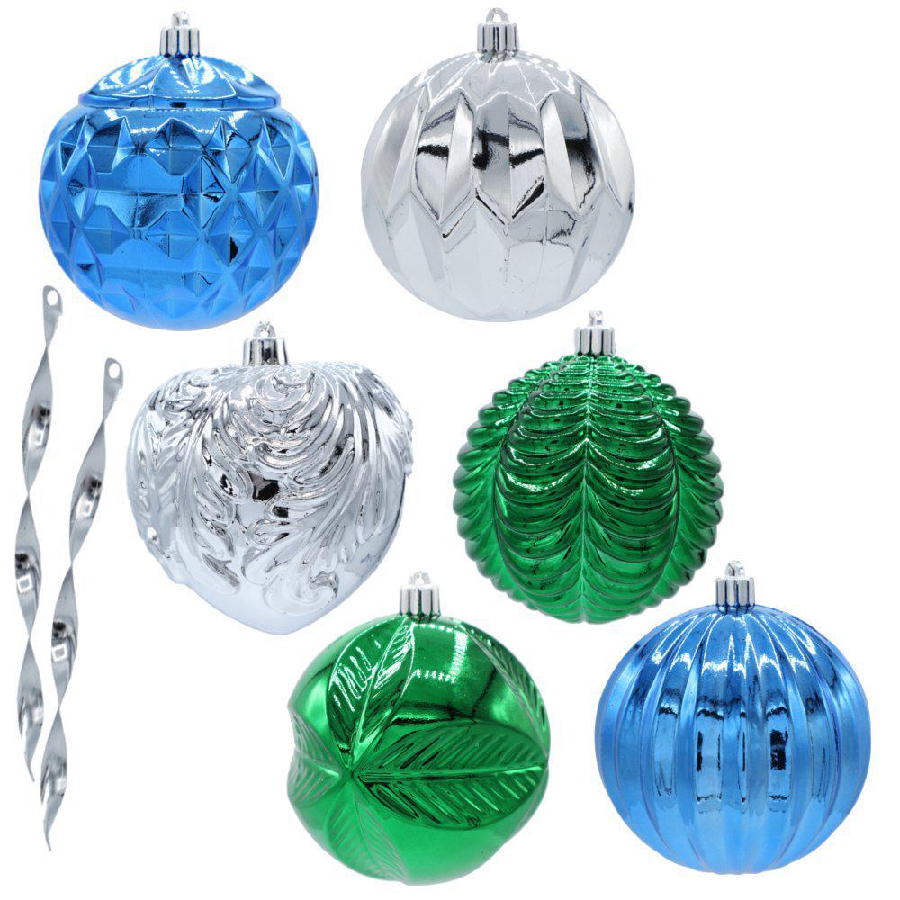 Jingle Jubilee 100 mm Ornament Set (50-Count)