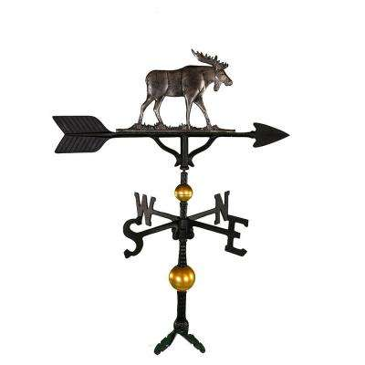 32 in. Deluxe Swedish Iron Moose Weathervane