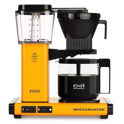 KBG 10-Cup Yellow Pepper Drip Coffee Maker