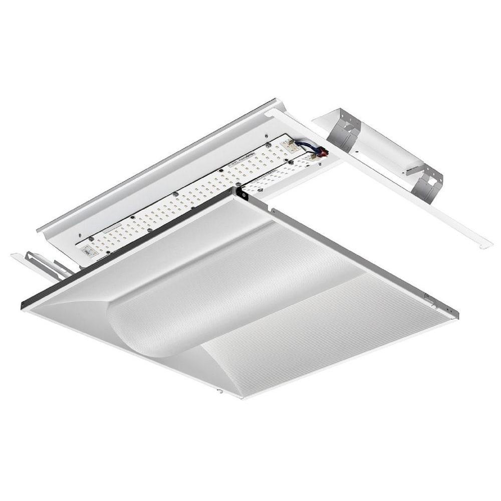 2 ft. x 2 ft. White LED Architectural Troffer Relight Kit