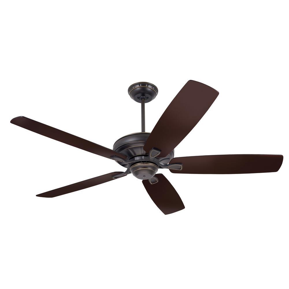 Hunter Capshaw 60 Premier Bronze Ceiling Fan With Light: Hunter Groveland 60 In. Indoor Premier Bronze Ceiling Fan