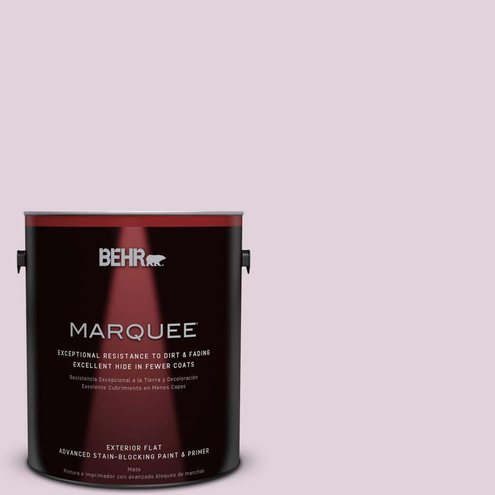 1-gal. #690E-2 Heather Rose Flat Exterior Paint