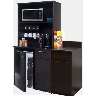 Coffee Kitchen Espresso Sideboard with Lunch Break Room Functionality with Assembled Commercial Grade 3419