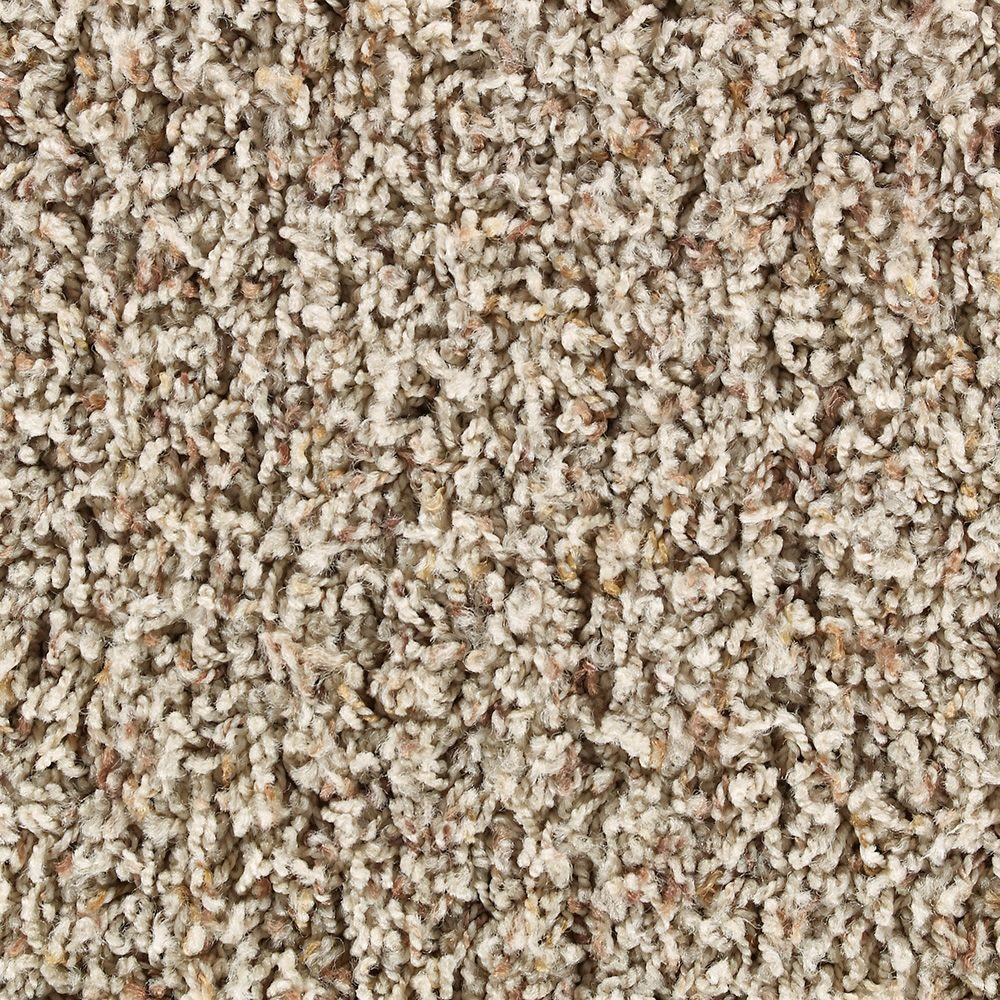 Martha Stewart Living Greystone Natural Twine Tonal - 6 in. x 9 in. Take Home Carpet Sample-DISCONTINUED