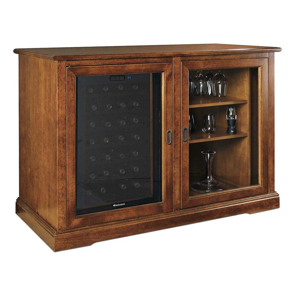 Wine Enthusiast Siena Mezzo Wine Credenza 28-Bottle
