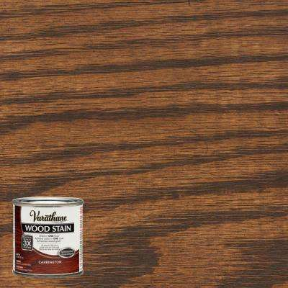 8 oz. Carrington Premium Fast Dry Interior Wood Stain (4-Pack)