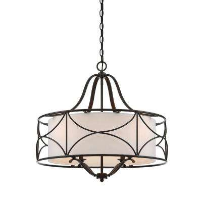 Avara 4-Light Oil Rubbed Bronze Interior Chandelier