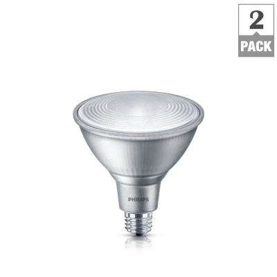 90-Watt Equivalent PAR38 Dimmable LED Classic Glass Energy Star Flood Daylight (5000K) (2-Pack)