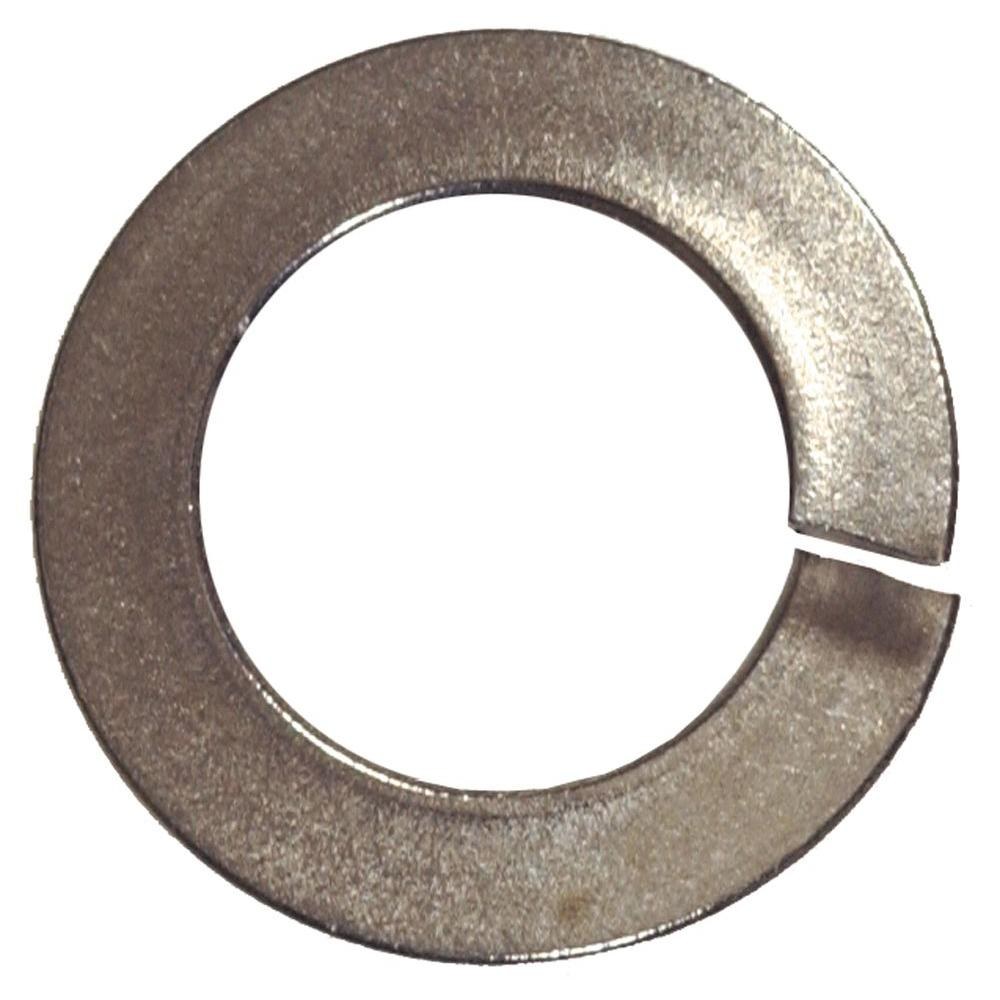 The Hillman Group 5/8 in. Stainless Steel Split Lock Washer (12-Pack)