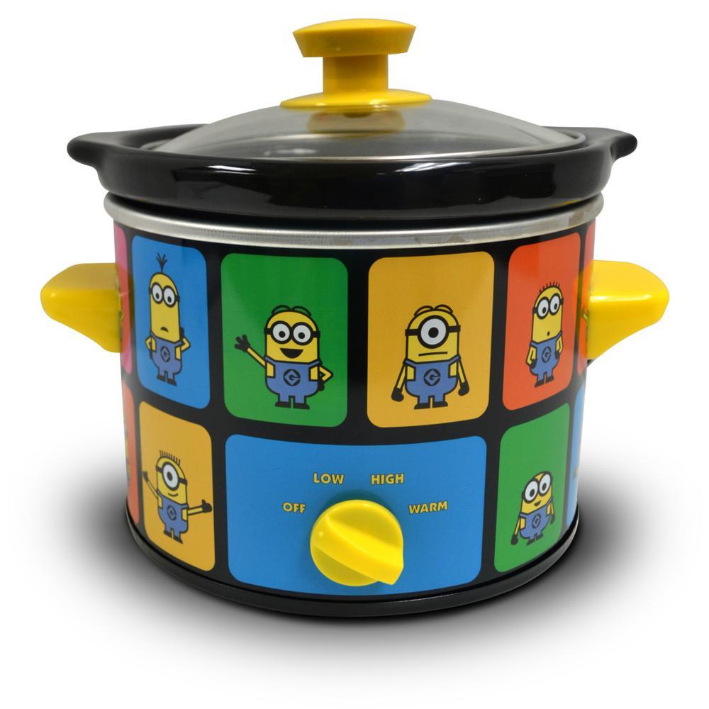 Minions 2 Qt. Slow Cooker Yellow