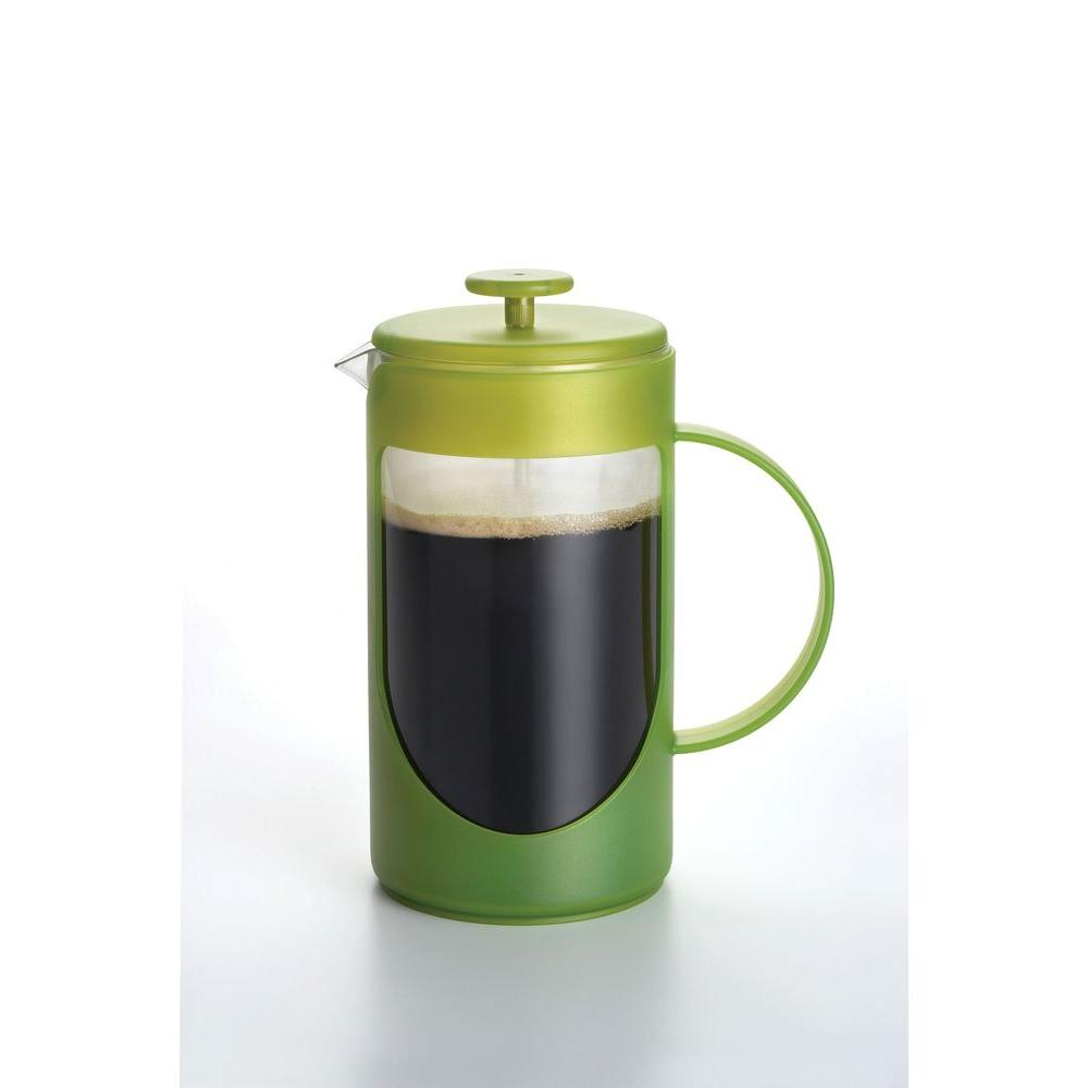 BonJour 8-Cup Ami-Matin Unbreakable French Press in Green