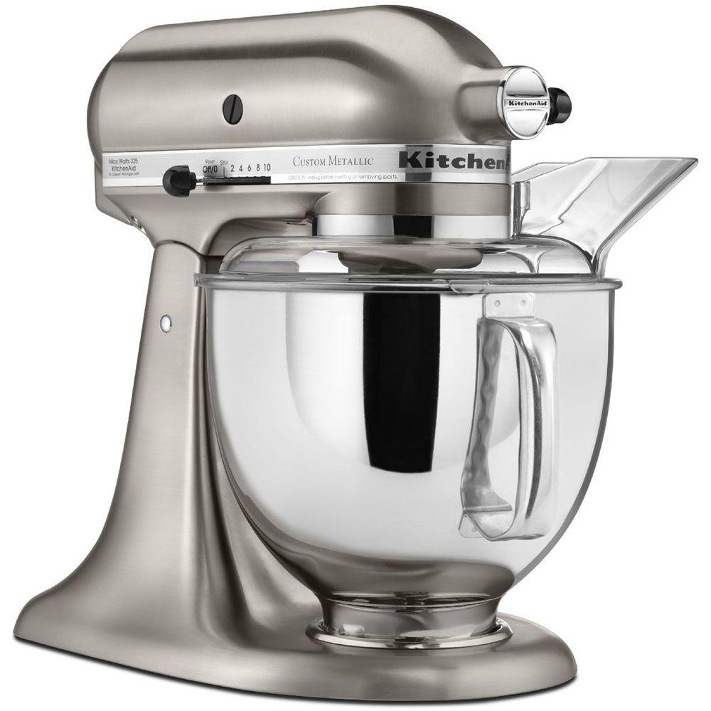 KitchenAid Custom Metallic 5 Qt. Brushed Nickel Stand Mixer