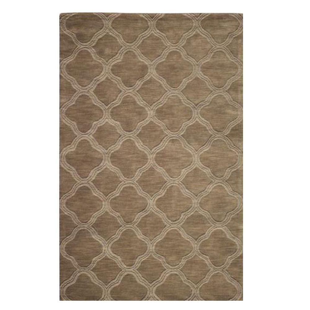 Home Decorators Collection Morocco Taupe 3 Ft. X 5 Ft. Area Rug