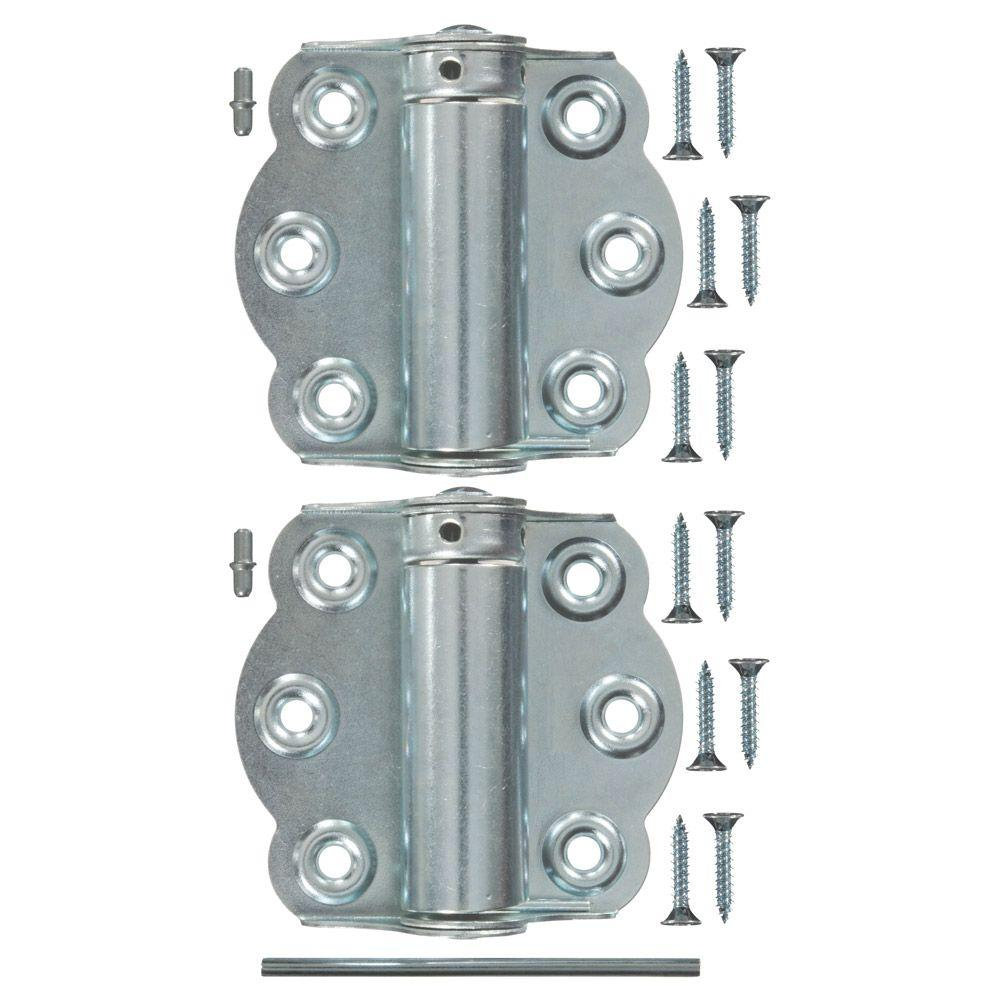 Wright Products 2-3/4 in. Zinc-Plated Adjustable Self-Closing Hinge ...