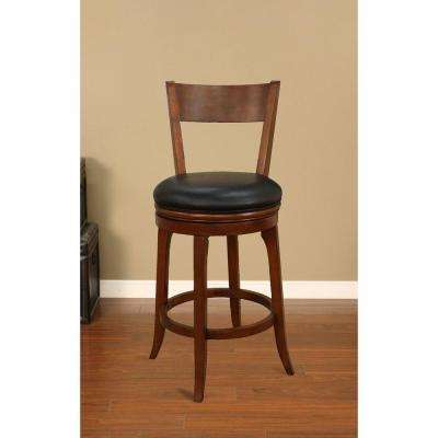 Autumn 30 in. Suede Cushioned Bar Stool (Set of 2)