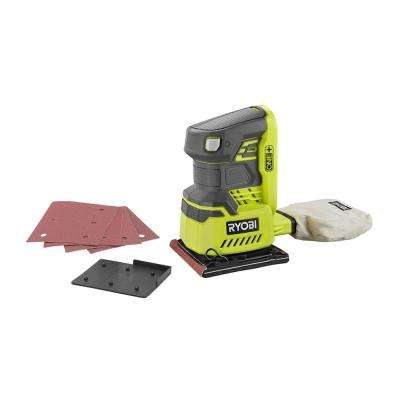 18-Volt ONE+ Cordless 1/4 in. Sheet Sander (Tool-Only) with Dust Bag