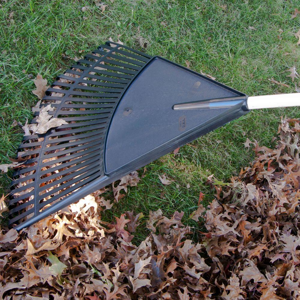24 in. Poly Leaf Rake
