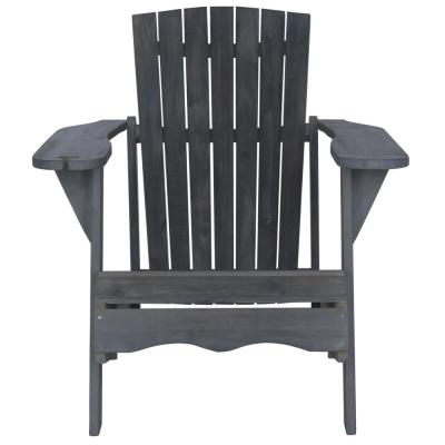 Vista Ash Grey Wood Adirondack Chair