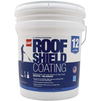 5 Gal. White Roofshield Reflective Roof Coating