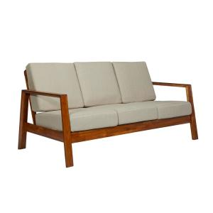 Fabulous Handy Living Columbus Mid Century Modern Sofa With Exposed Caraccident5 Cool Chair Designs And Ideas Caraccident5Info