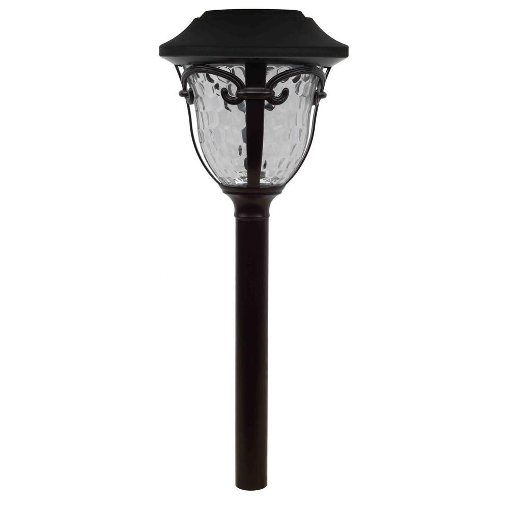 Hampton Bay Open Stock Solar Bronze Outdoor Integrated LED