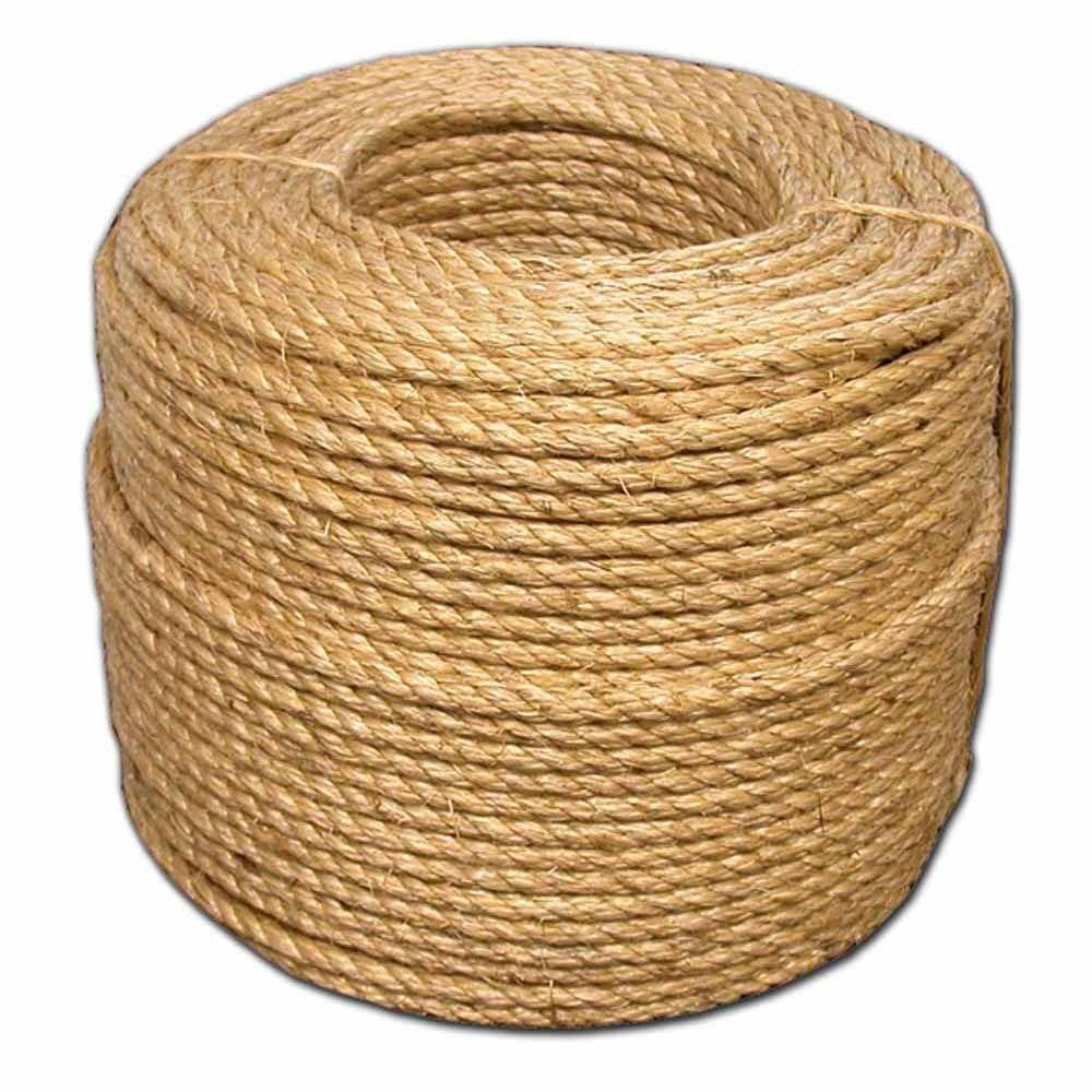 T.W. Evans Cordage 1/2 in. x 600 ft. Premium Manila Rope