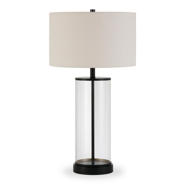 Rowan 28 in. Bronze Table Lamp
