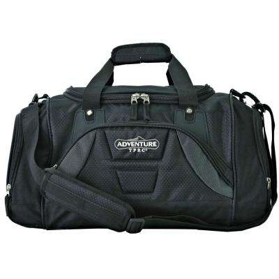 28 in. Black Multi-Pocket Sport Duffel (TPRC)