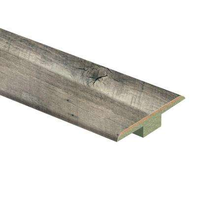 Cross Sawn Oak Grey 9/16 in. Thick x 1-3/4 in. Wide x 72 in. Length Laminate T-Molding