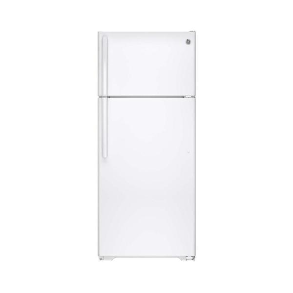 17.6 cu. ft. Top Freezer Refrigerator in White, ENERGY STAR