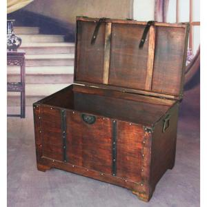 Vintiquewise old fashioned wood storage trunk wooden treasure hope internet 300593954 vintiquewise old fashioned wood storage trunk wooden treasure hope chest gumiabroncs Images