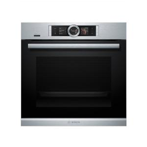 500 Series 24 in. Single Electric Wall Oven with European Convection Self-Cleaning with Home Connect in Stainless Steel