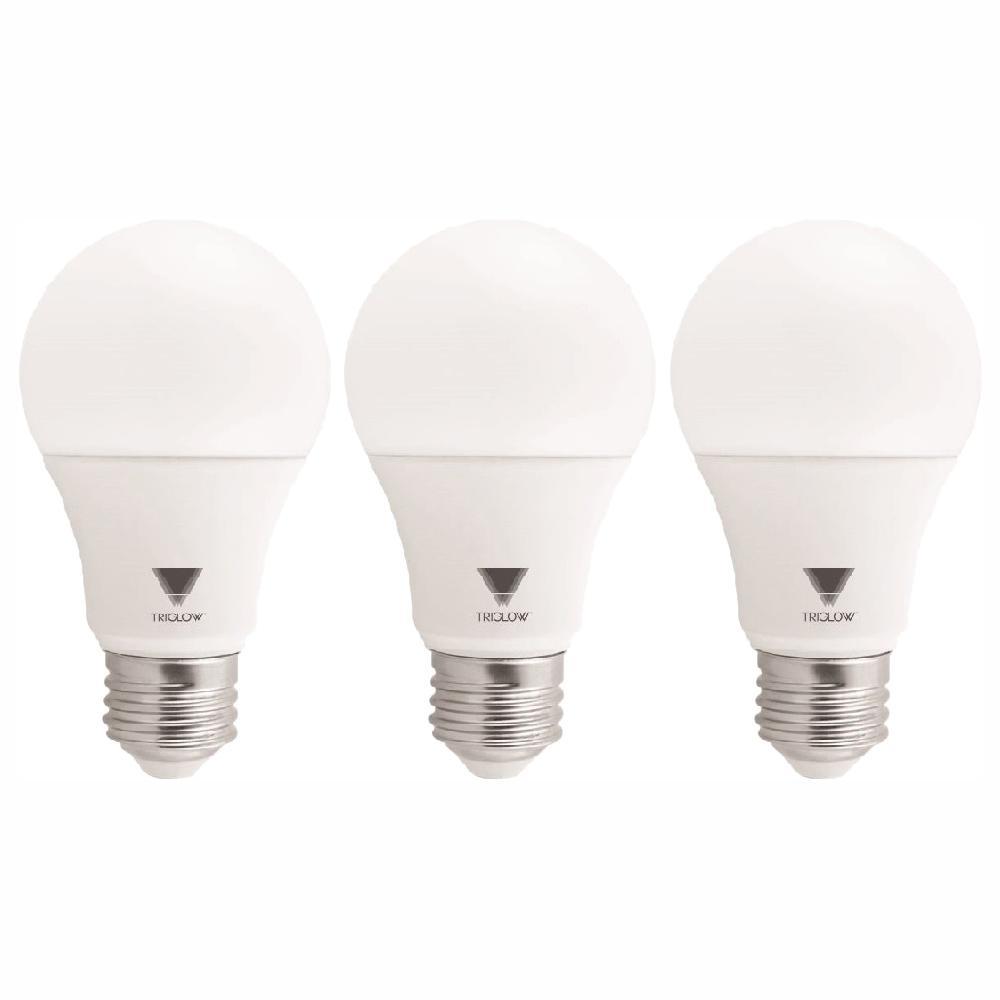 Triglow 60 Watt Equivalent A19 800 Lumen Soft White Led Light Bulbs 3