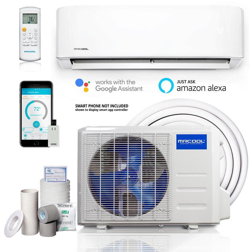 Advantage 3rd Gen 18,000 BTU 1.5 Ton Ductless Mini Split Air Conditioner and Heat Pump 230V/60Hz
