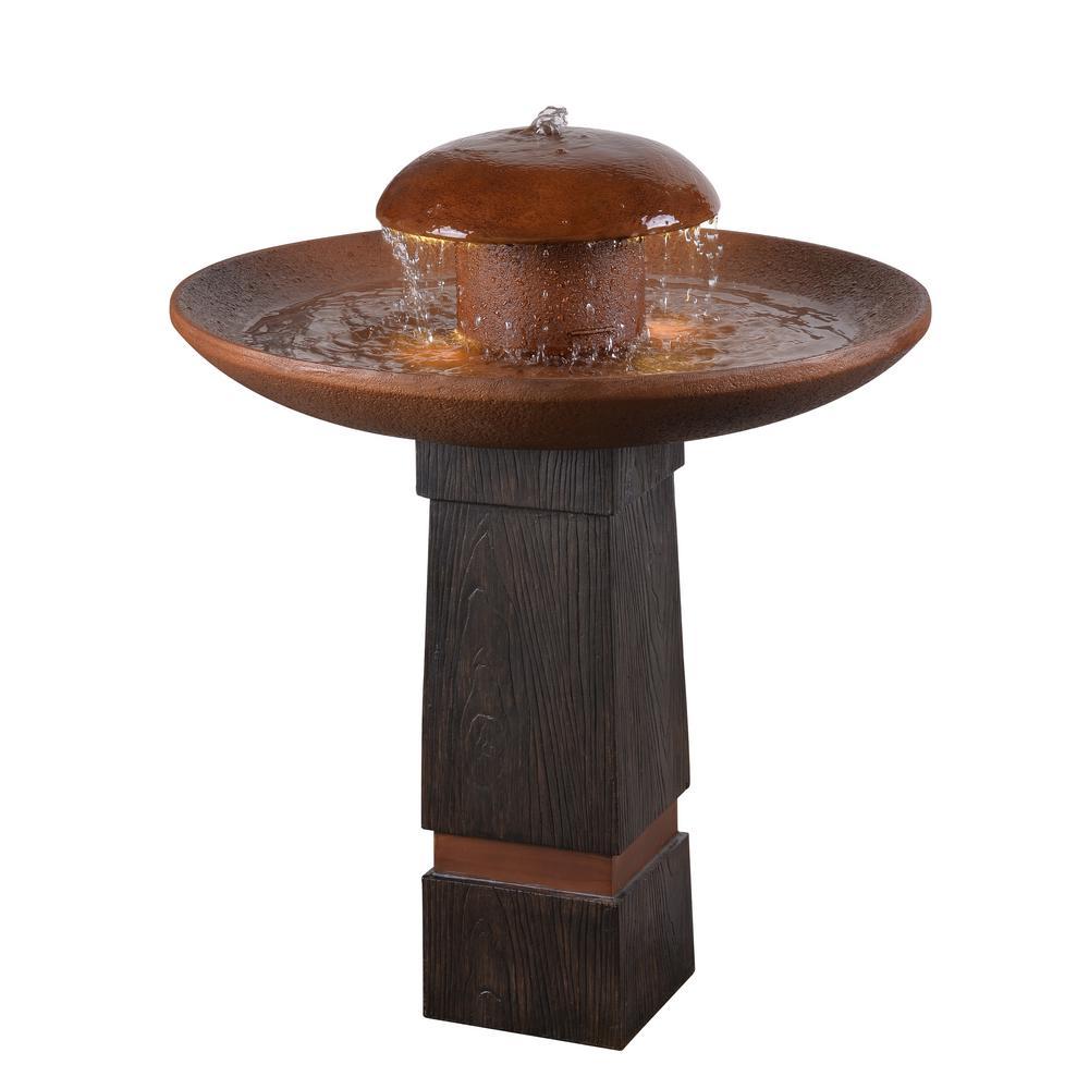 Oswego Resin Floor Fountain