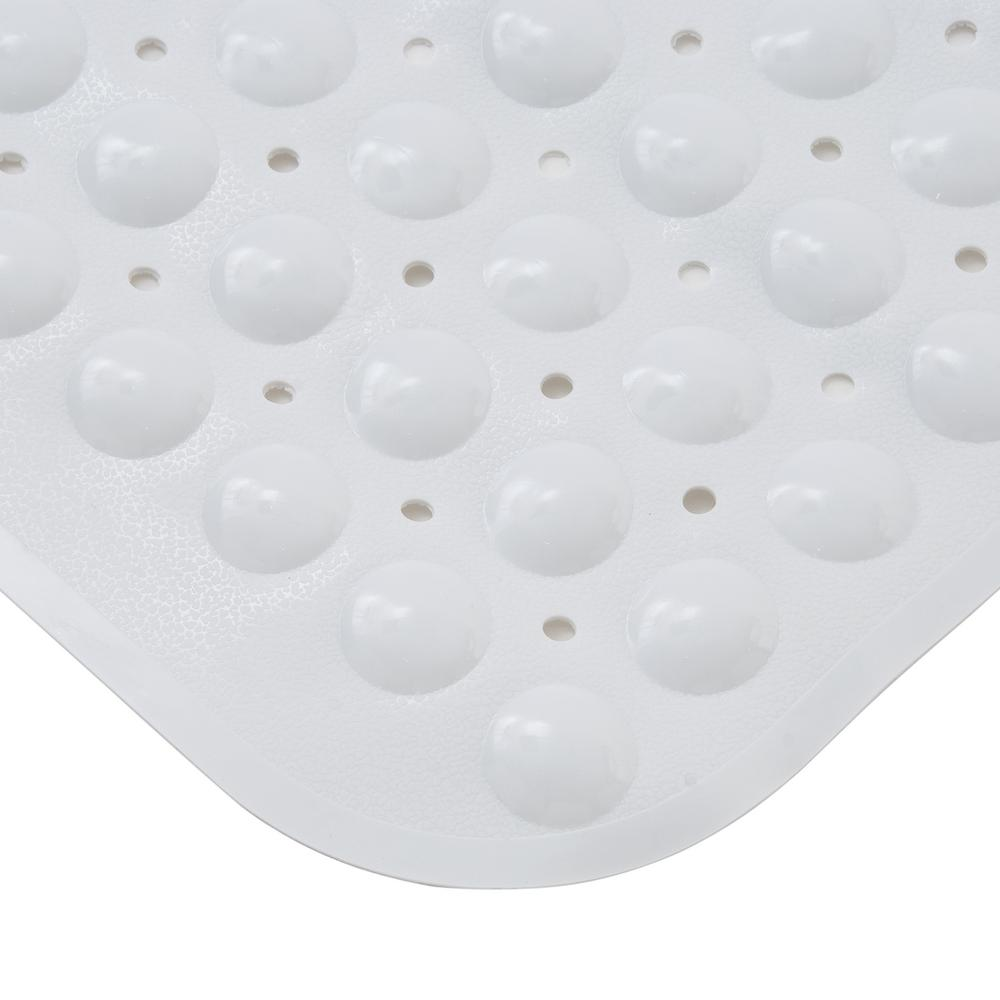 Kenney 15.25 in. x 30.75 in. Non-Slip Bath, Shower and Tub Mat with ...