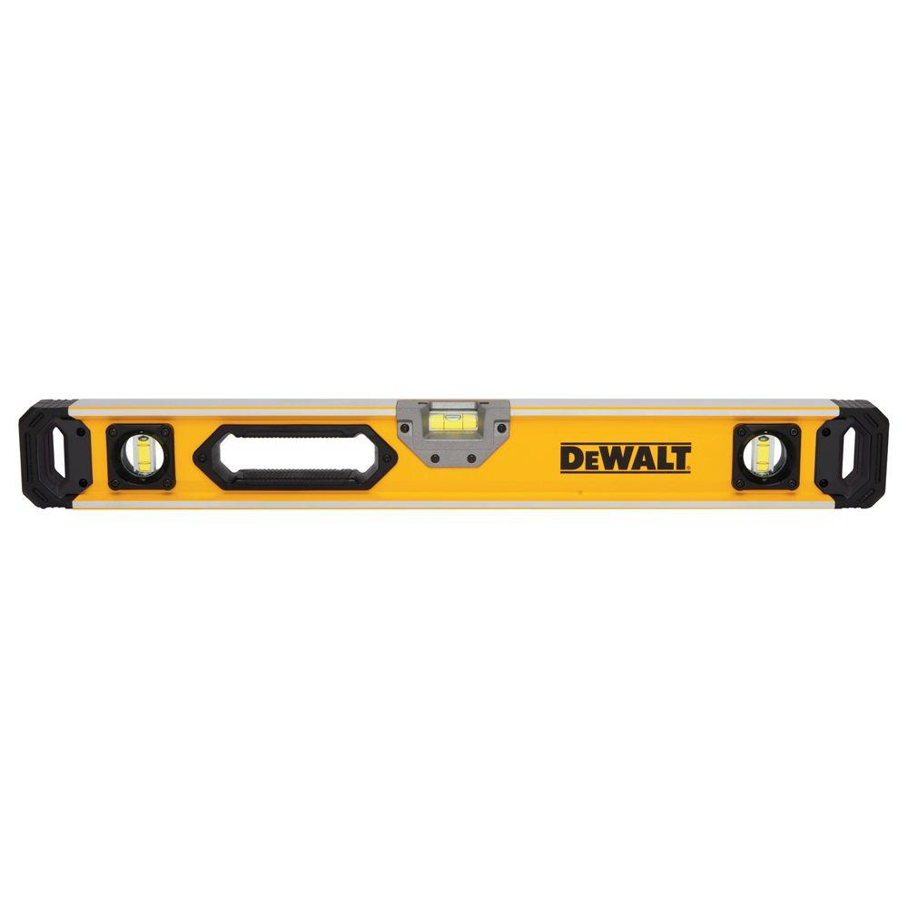 24 in. Magnetic Heavy Duty Box Beam Level
