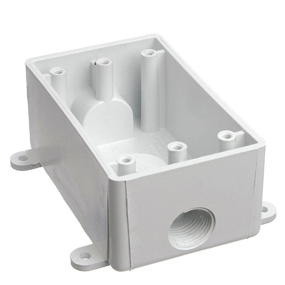 1-Gang Weatherproof T Box (Case of 5)