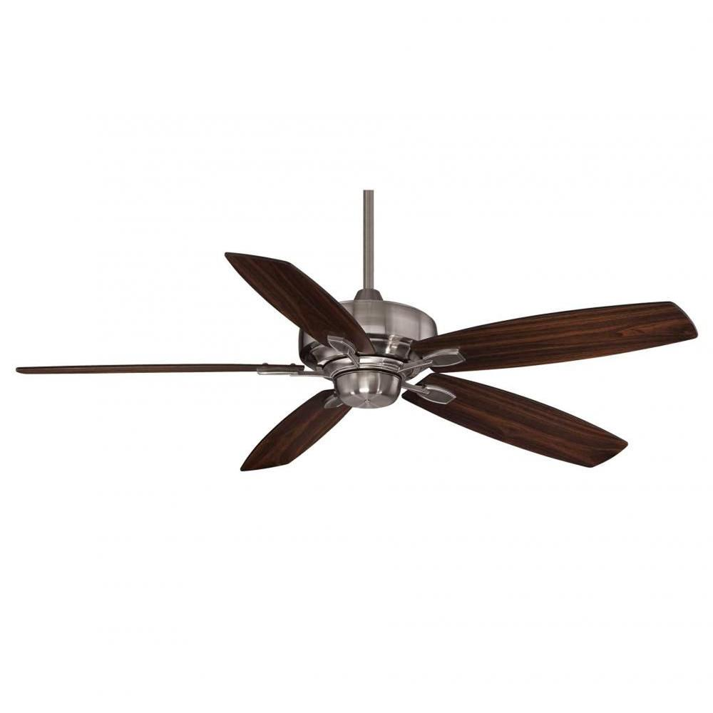 Illumine Riedern 52 in. Brushed Pewter Indoor Ceiling Fan