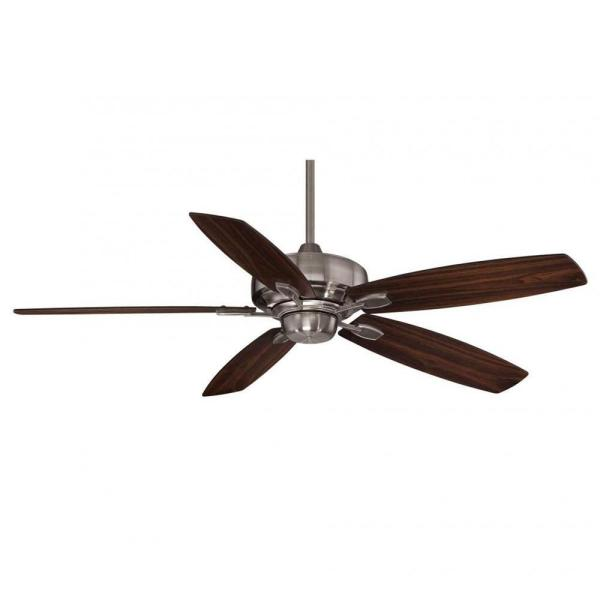 Riedern 52 in. Brushed Pewter Indoor Ceiling Fan
