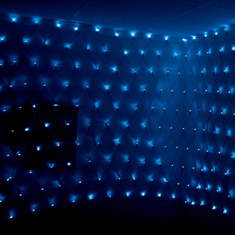 300 LED White Net String Lights