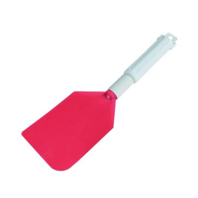 13.5 in. Spatula with 4.5 x 7.5 in. Red Nylon Blade (Case of 6)